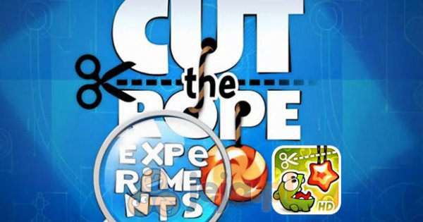 Cut the Rope: Eksperymenty