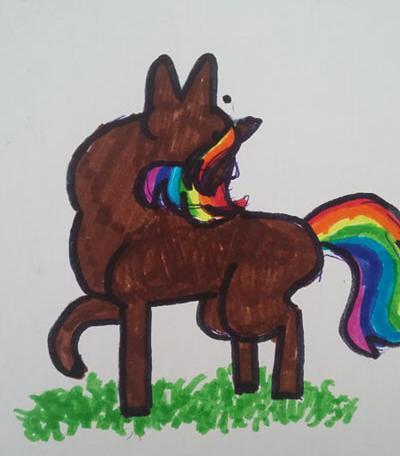 Zdjęcie użytkownika kosmiczny_kamien w temacie Koń 🐎