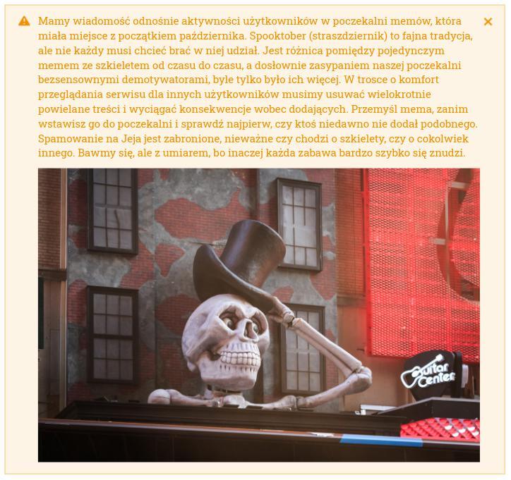 Zdjęcie użytkownika ewelkapl w temacie Co myślicie o szkieletach w poczekalni memów?