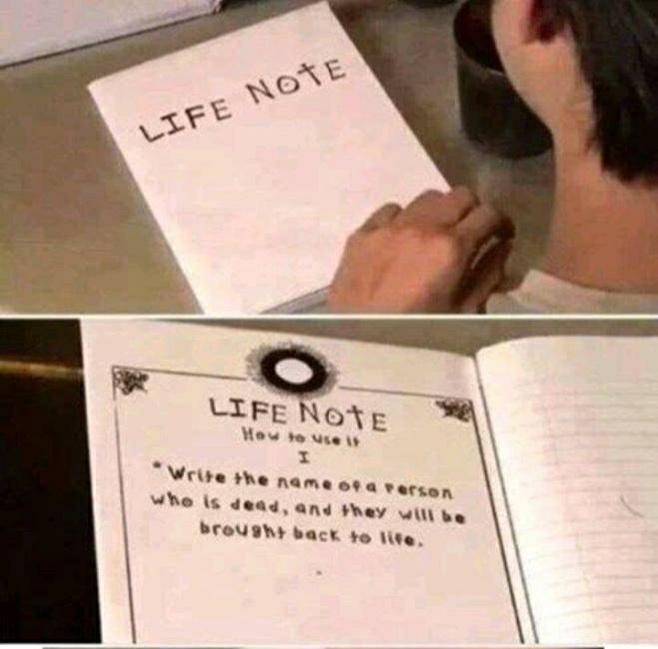 Zdjęcie użytkownika Darkord w temacie Life Note