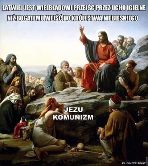 Zdjęcie użytkownika Litops w temacie Jezus Chrystus socjalistą?