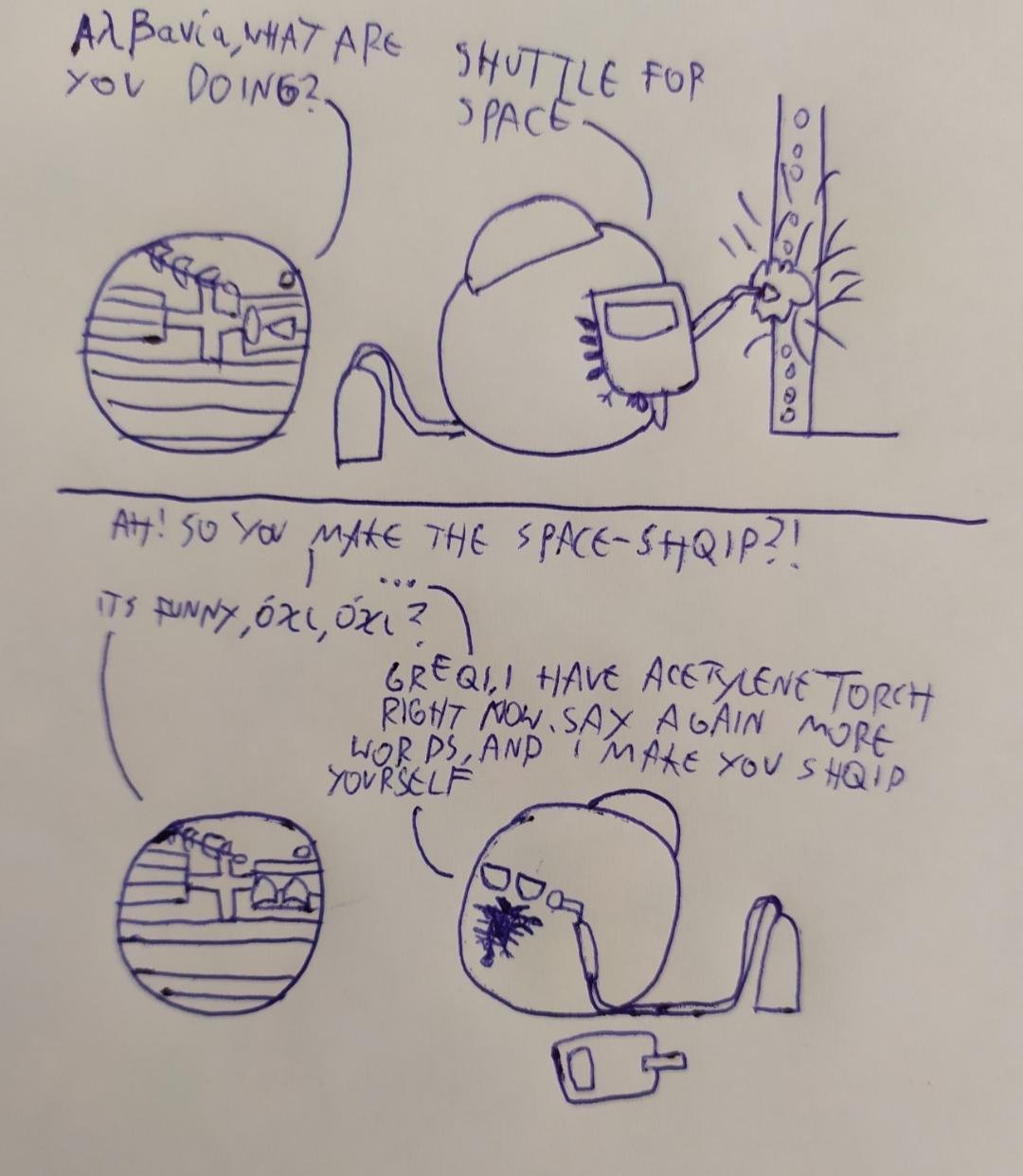 Zdjęcie użytkownika PRLball w temacie Memy i komiksy o Countryballach