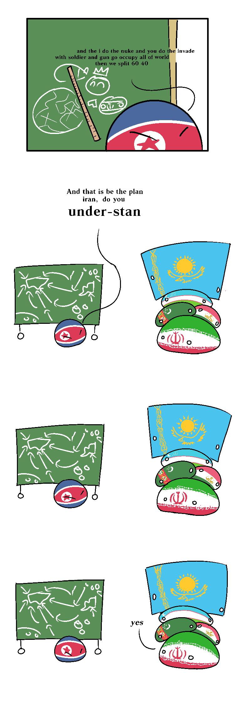 Zdjęcie użytkownika ambasadorpolskipolnocnej w temacie Memy i komiksy o Countryballach