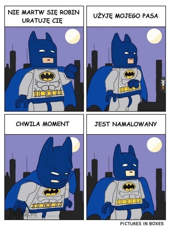 Problemy LEGO Batmana