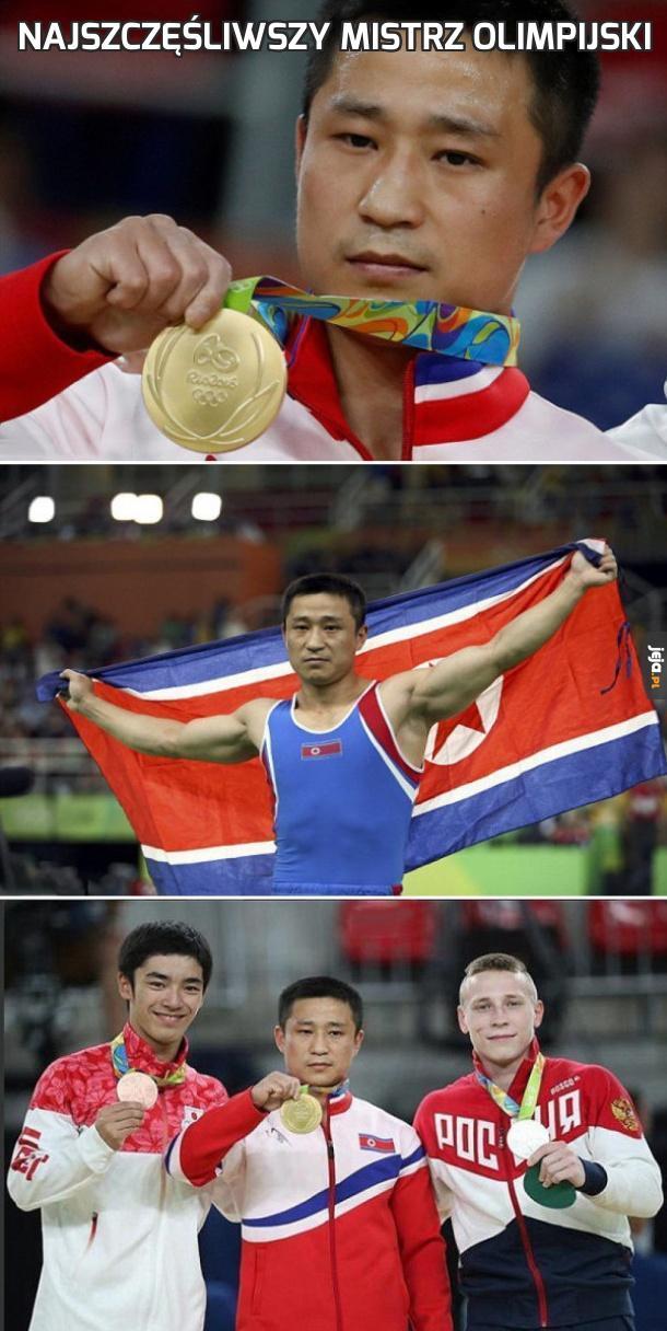 Najszczęśliwszy mistrz olimpijski