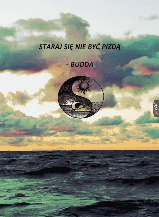 Budda to był jednak mądry gość
