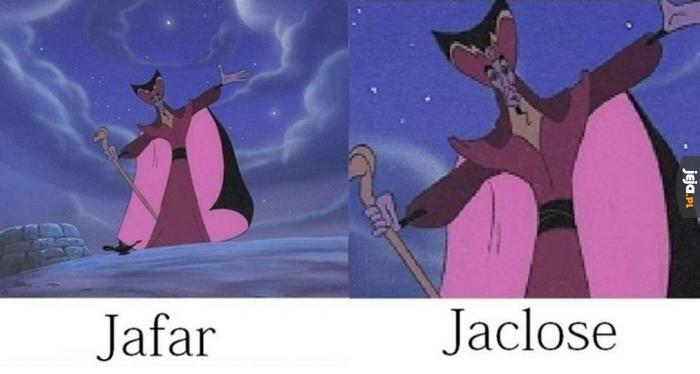 Jafar w dwóch wersjach