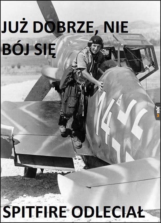 Biedny mały Messerschmitt...
