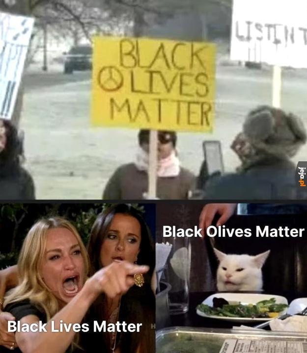 Zielone i czarne oliwki są równe!