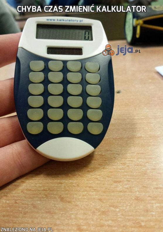 Chyba czas zmienić kalkulator