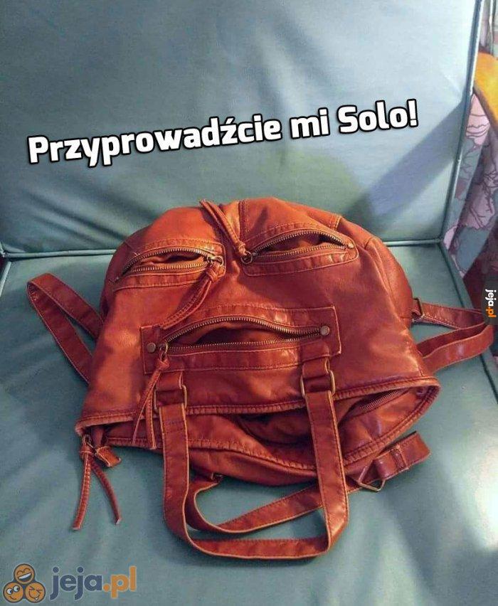 Jabbę widzę w tej torbie