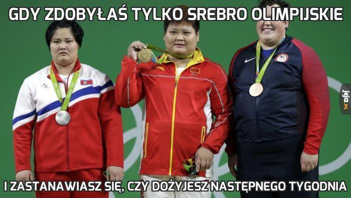 Gdy zdobyłaś tylko srebro olimpijskie