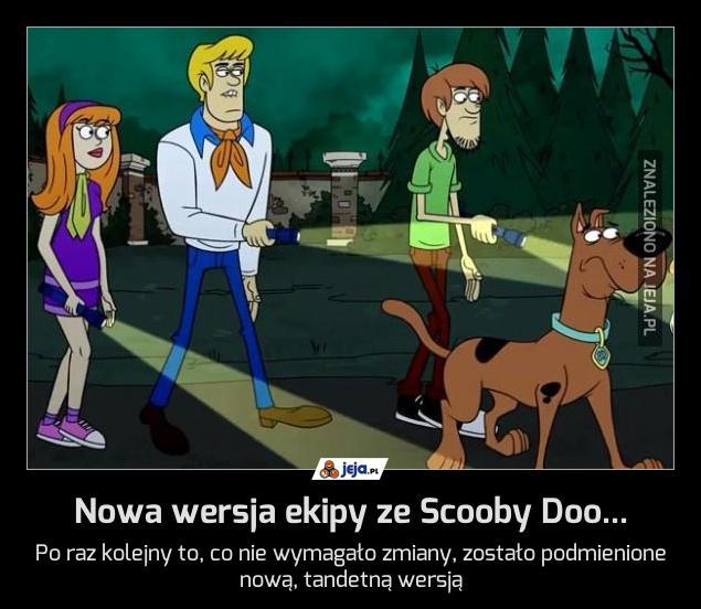 Nowa wersja ekipy ze Scooby Doo...