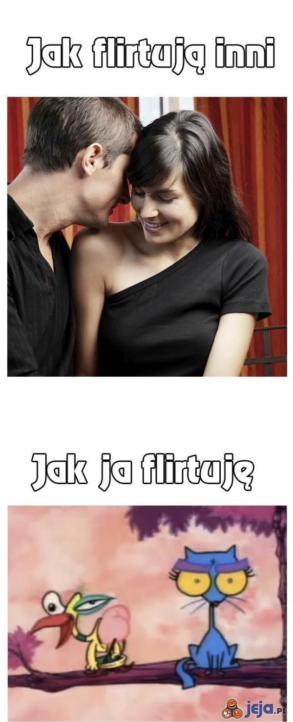 Jak flirtuję
