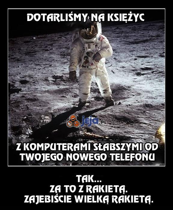 Mała różnica w podbijaniu kosmosu