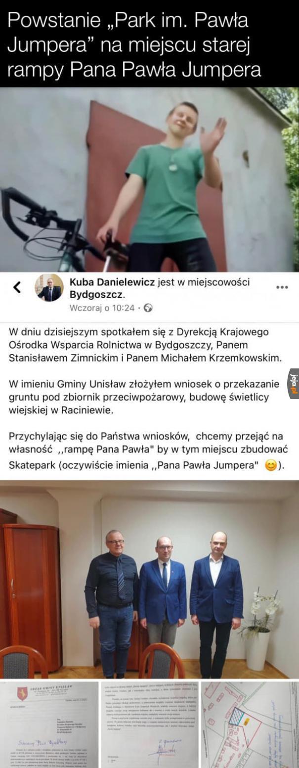 Park im. Pawła Jumpera