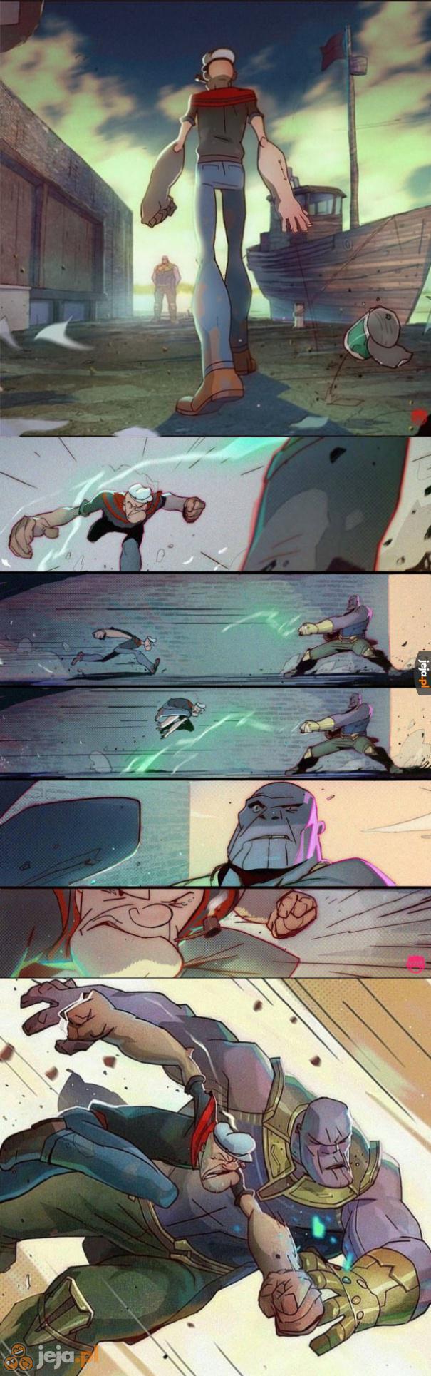 Tylko on mógłby powstrzymać Thanosa