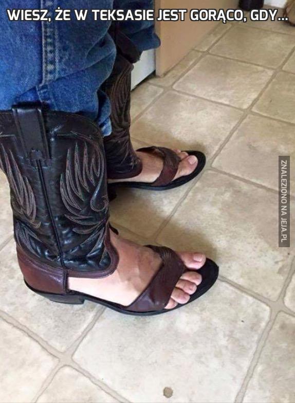 Wiesz, że w Teksasie jest gorąco, gdy...