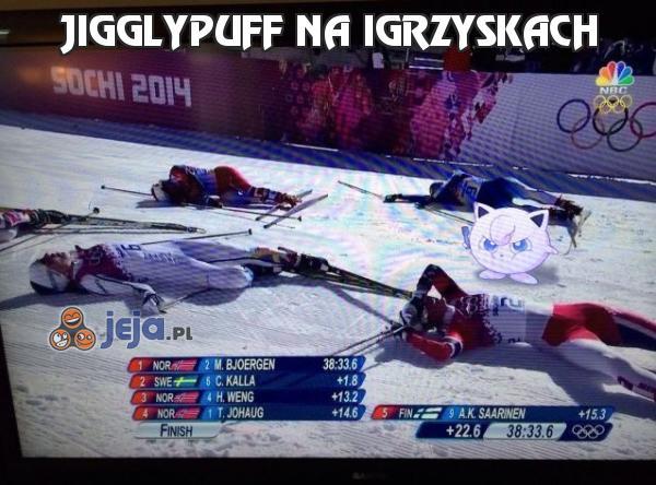 Jigglypuff na igrzyskach