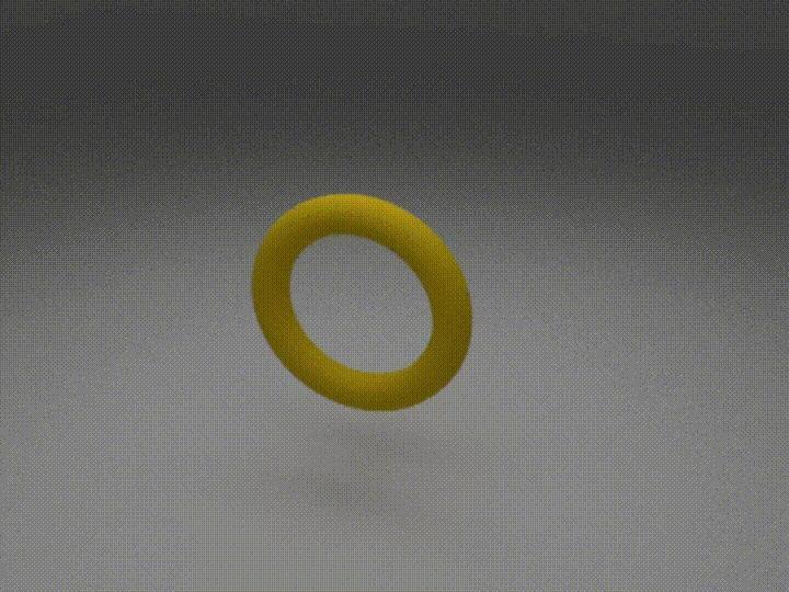 Pierścień czy makaron?