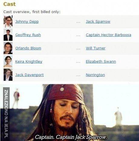 """Gdzieś tu powinno być """"kapitan""""!"""