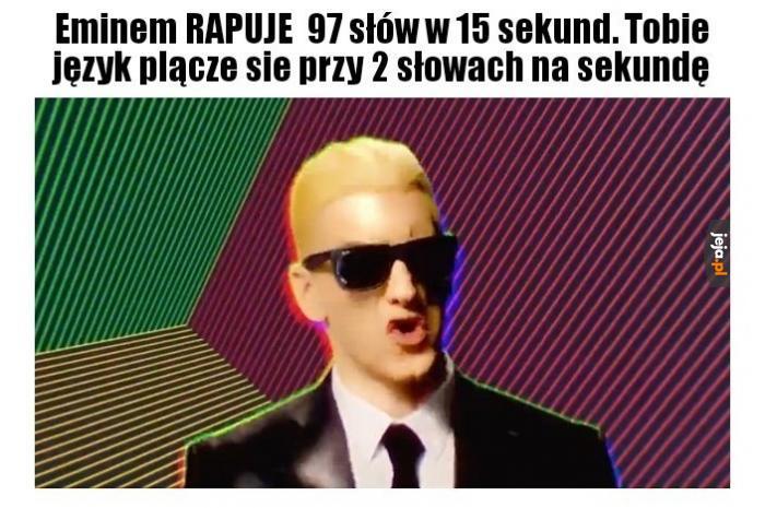 Jak szybko rapujesz?