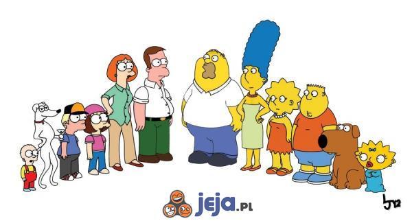 Family Guy i Simpsonowie
