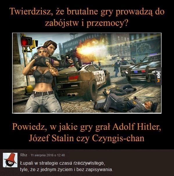 W jakie gry grał Hitler?