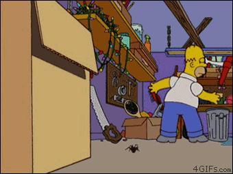 Homer znowu miał pecha