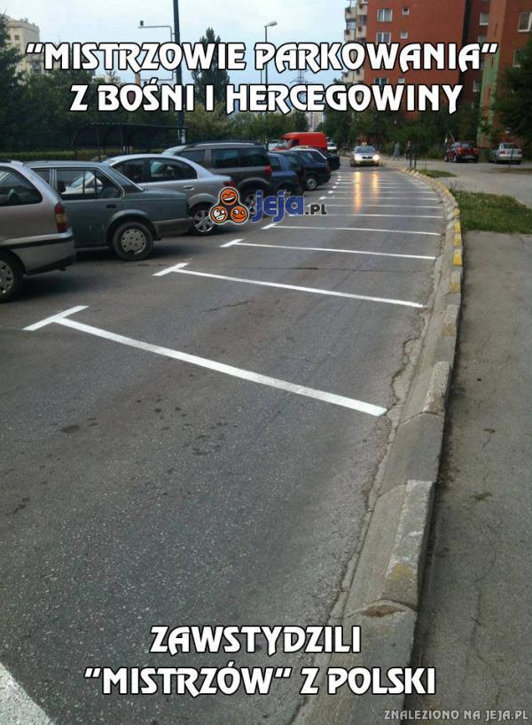 """""""Mistrzowie parkowania"""" z Bośni i Hercegowiny"""