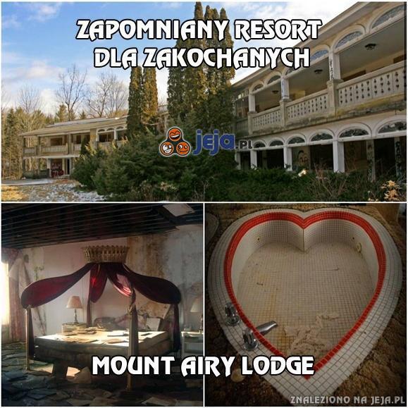 Zapomniany resort dla zakochanych