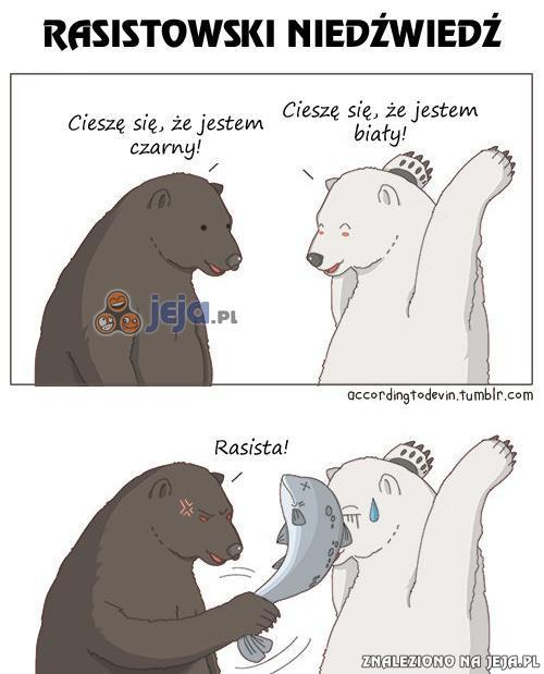 Rasistowski niedźwiedź