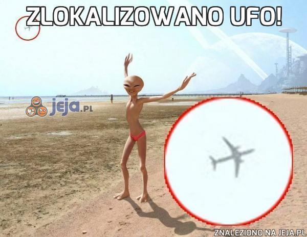 Zlokalizowano ufo!