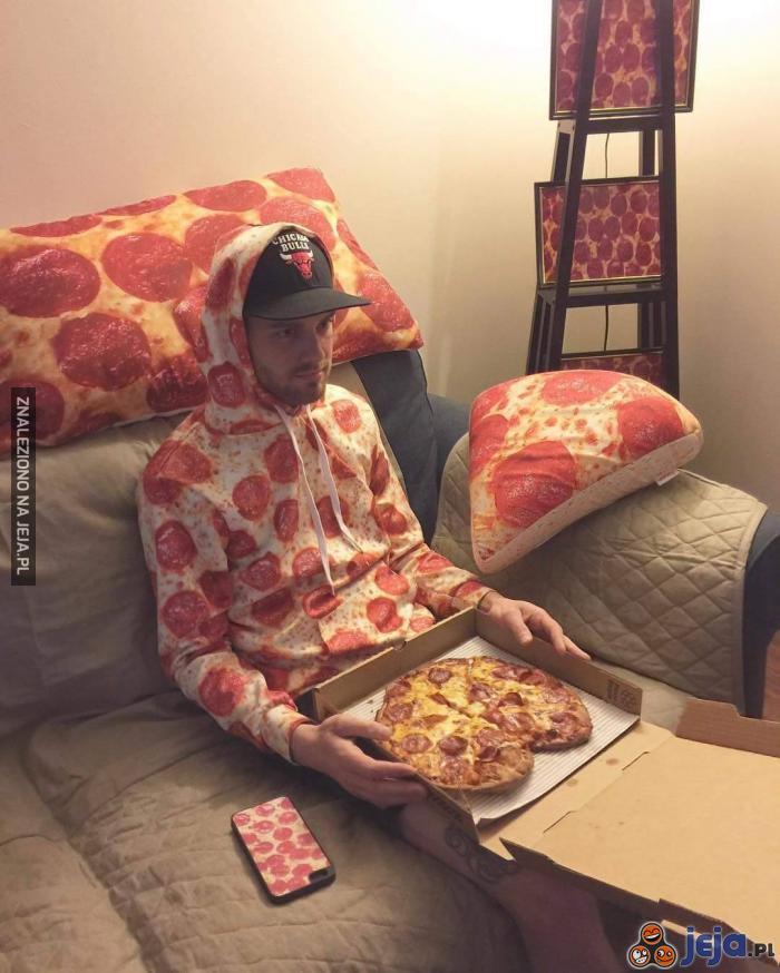 Kocham pizzę. Pizza to życie