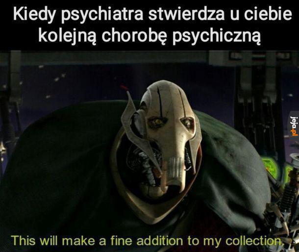Kolejna choroba do kolekcji