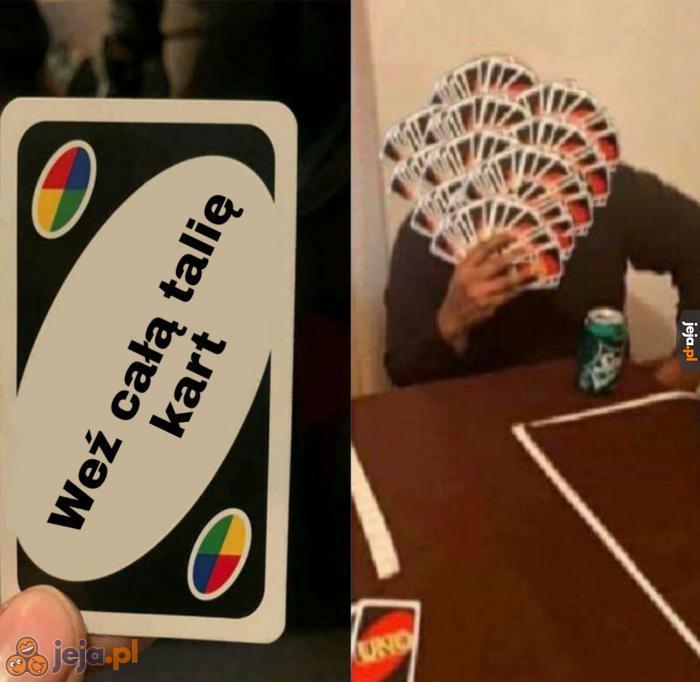 Duża ta talia kart, co nie?