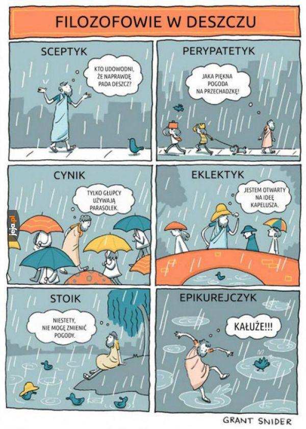 Deszcz i filozofia