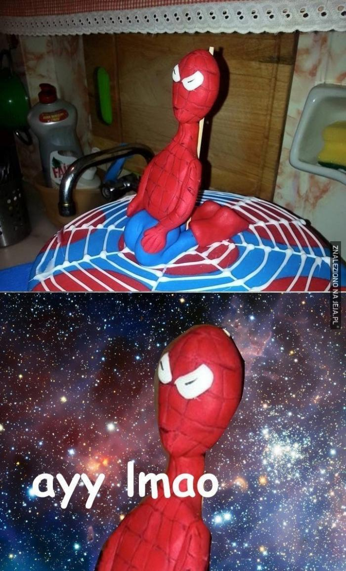 Spoderman, to ty?