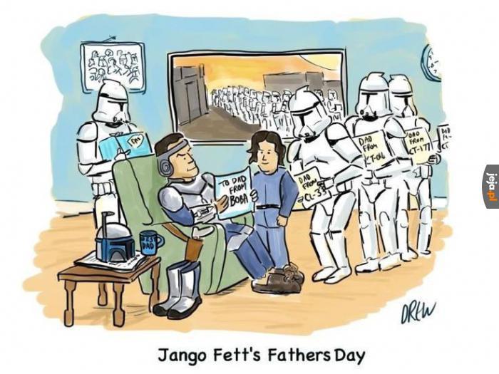 Dzień ojca Jango Fetty