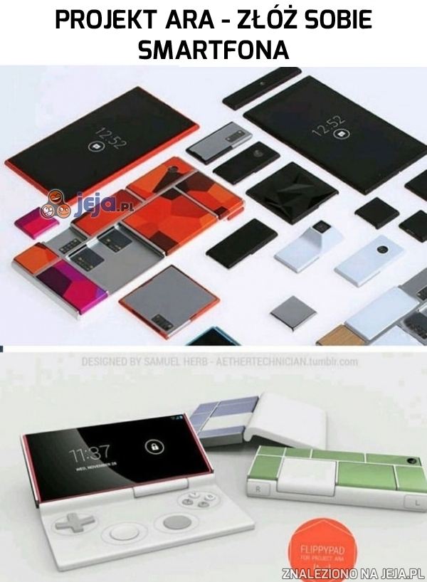 Złóż sobie smartfona