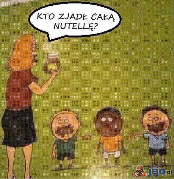 Kto zjadł Nutellę?