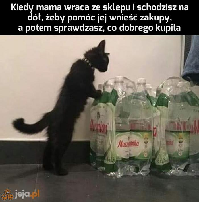 Kupiłaś coś słodkiego?