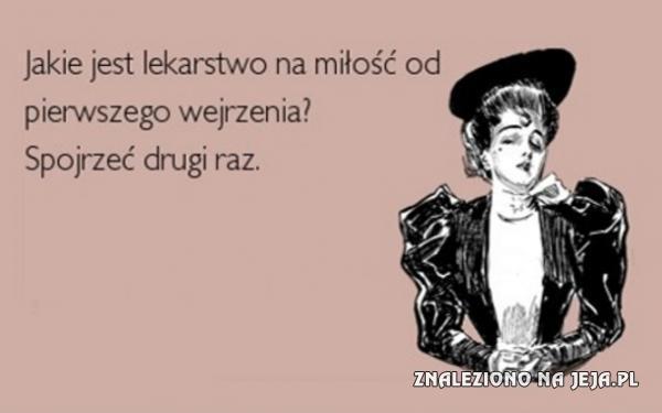 Lekarstwo na miłość