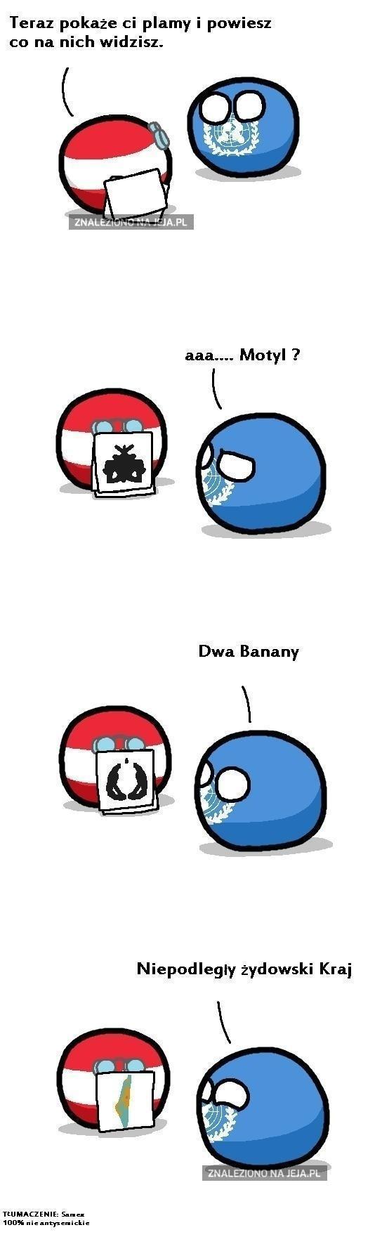 Plamy według ONZ