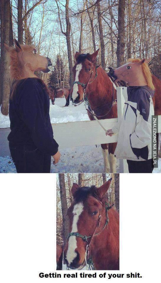 Ha ha ha. Bardzo śmieszne.