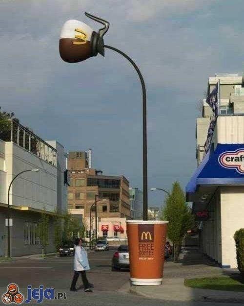 Reklama kawy z McDonalda