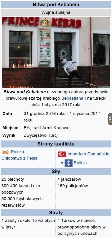 2017 - Bitwa pod Kebabem