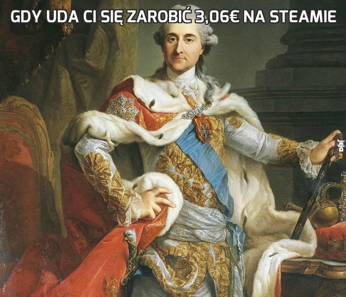 Gdy uda Ci się zarobić 3,06€ na Steamie