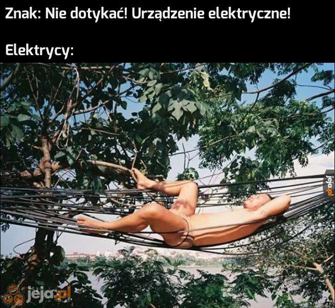 Elektryka prąd nie tyka