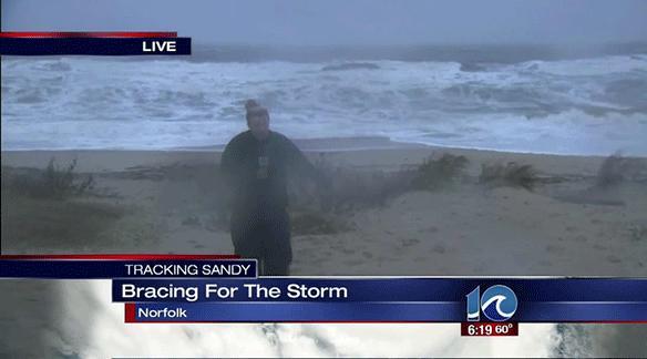 Niektórym huragan nie przeszkadza